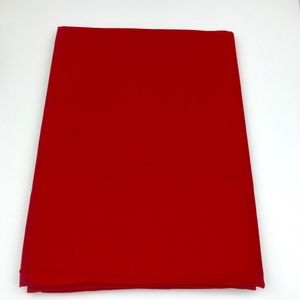"Linens by VERA Dining - Red Tablecloth 60"" x 102"" New Vintage"